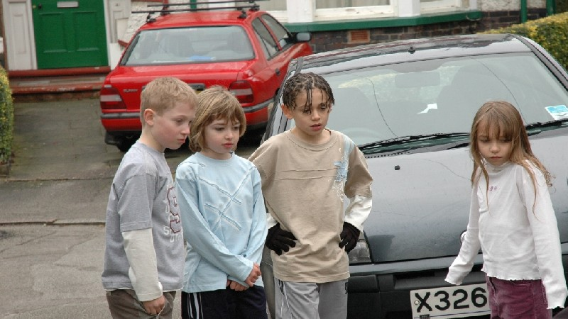 BOYS (Max Jones, Jake Young & Deon Williams) & AMY (Molly Windsor)