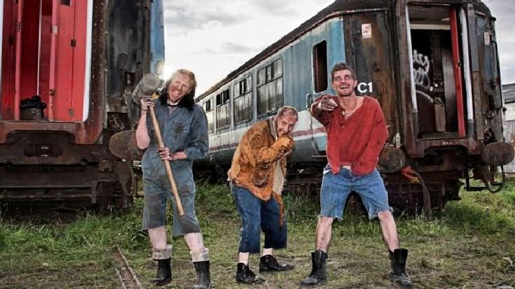INBREDs (Damien Lloyd-Davies, Derek Melling, Neil Leiper)